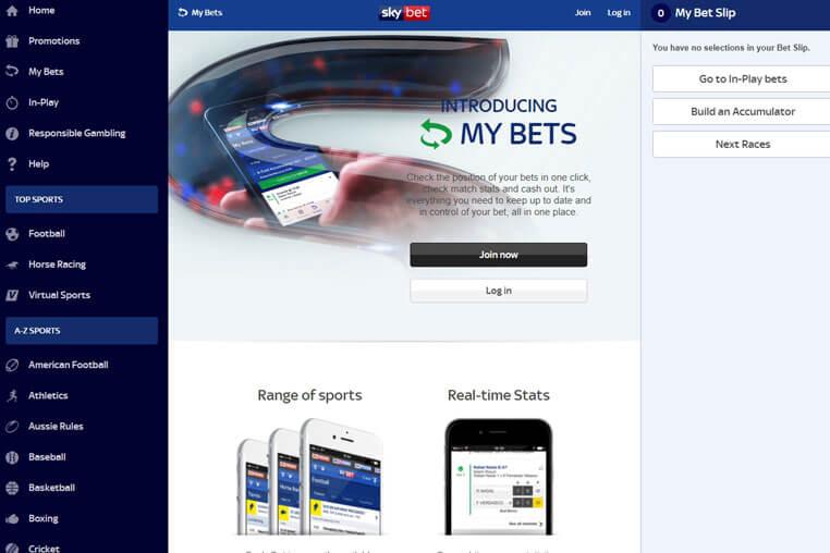 Sky Bet Bonus Codes